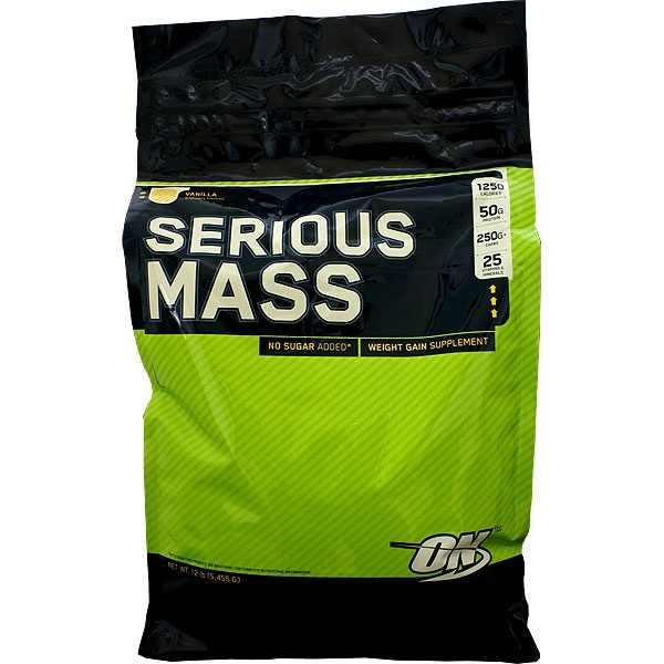 السيرياس ماس لزيادة الوزن وأكتساب الكتلة العضلية الصافية. 1