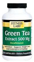 حبوب الشاى الأخضر