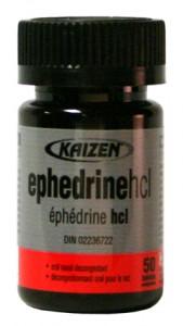 ايفيدرين , تخسيس , Ephedrine HCL