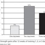 هل تحترق العضلة إذا مرنتها أكثر من مرة أسبوعياً؟ ما أفضل تردد للضخامة العضلية؟