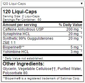 6 Lipo Black Ultra Concentrate