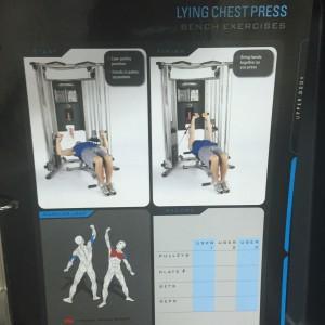 Lying Chest Press