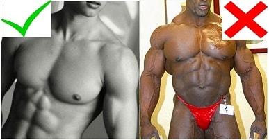 الفارق بين الفتنس و كمال الأجسام