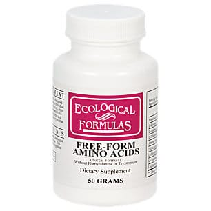 Ecological formulas free form amino acids