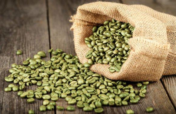 كابسولات القهوة الخضراء