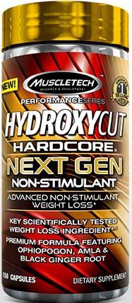 Hydroxycut NextGen stimulant free