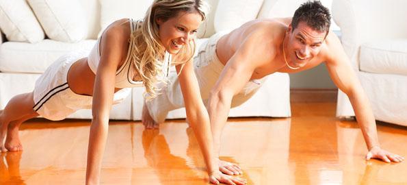 برنامج تدريبي بالمنزل بالدمبلز لزيادة الكتلة العضلية للمبتدئين. 1