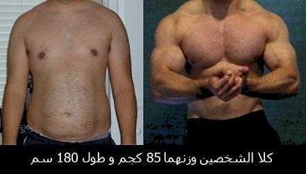 تثبيت الوزن