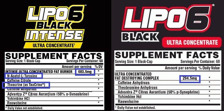 الفارق بين ليبو 6 الأسود و الأصفر