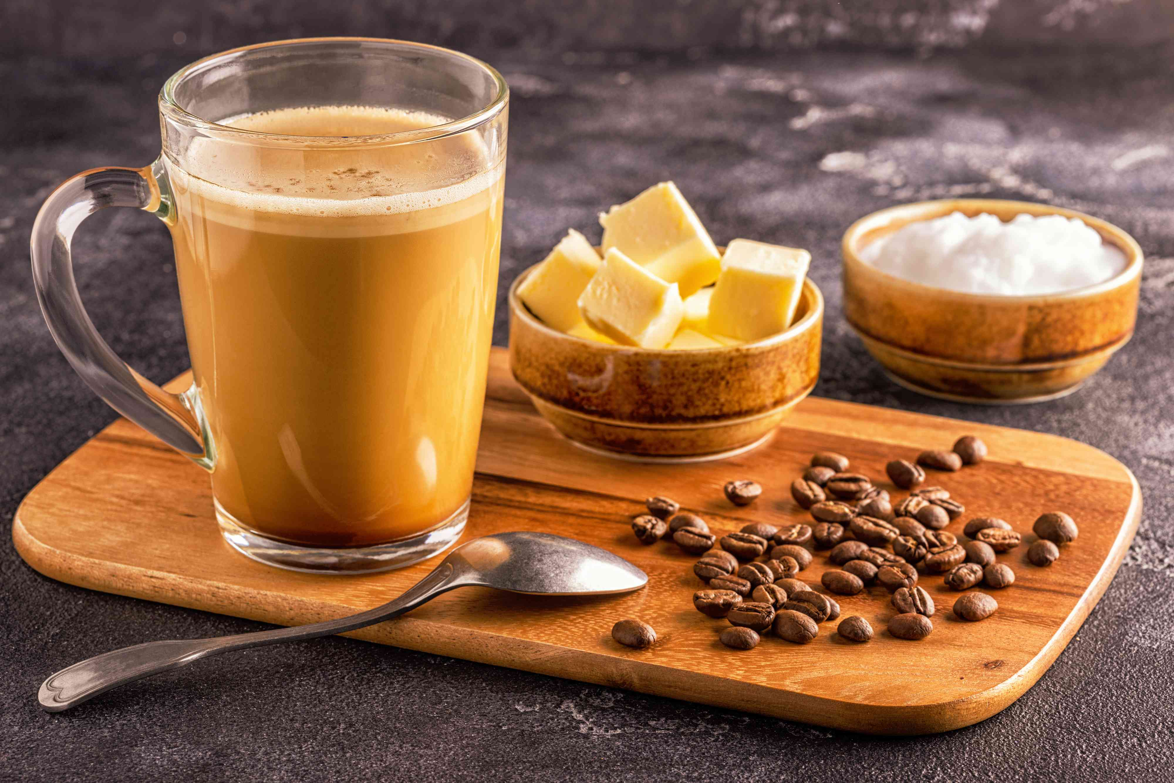 قهوة البوليت بروف المتميزة Bulletproof Coffee